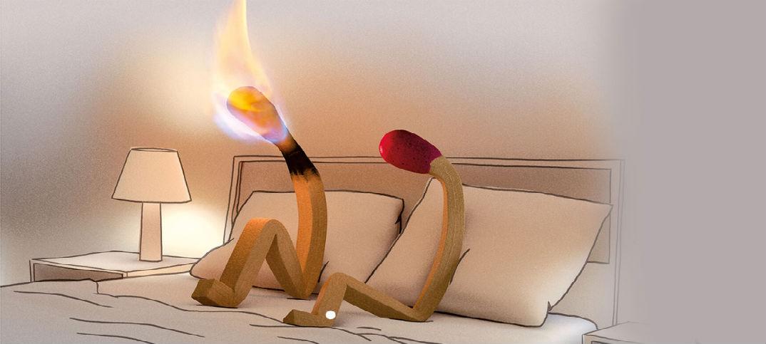 dommage de brûler trop tôt