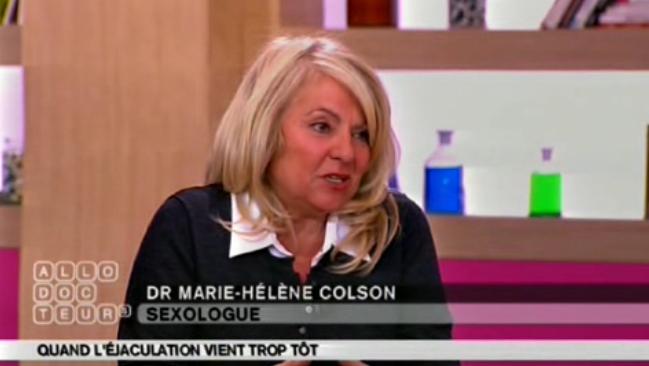 Dr Marie-Hélène Colson Avis retardateurs éjaculation précoce SpecialHomme.com